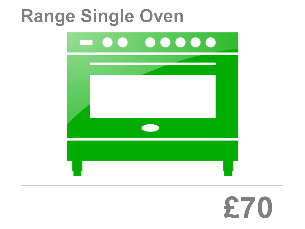Range Single Oven Clean Price Bristol