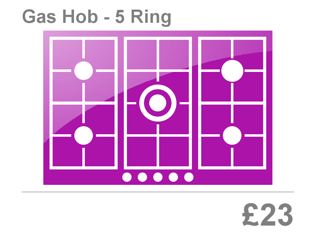 5 Ring Gas Hob Clean Price Bristol