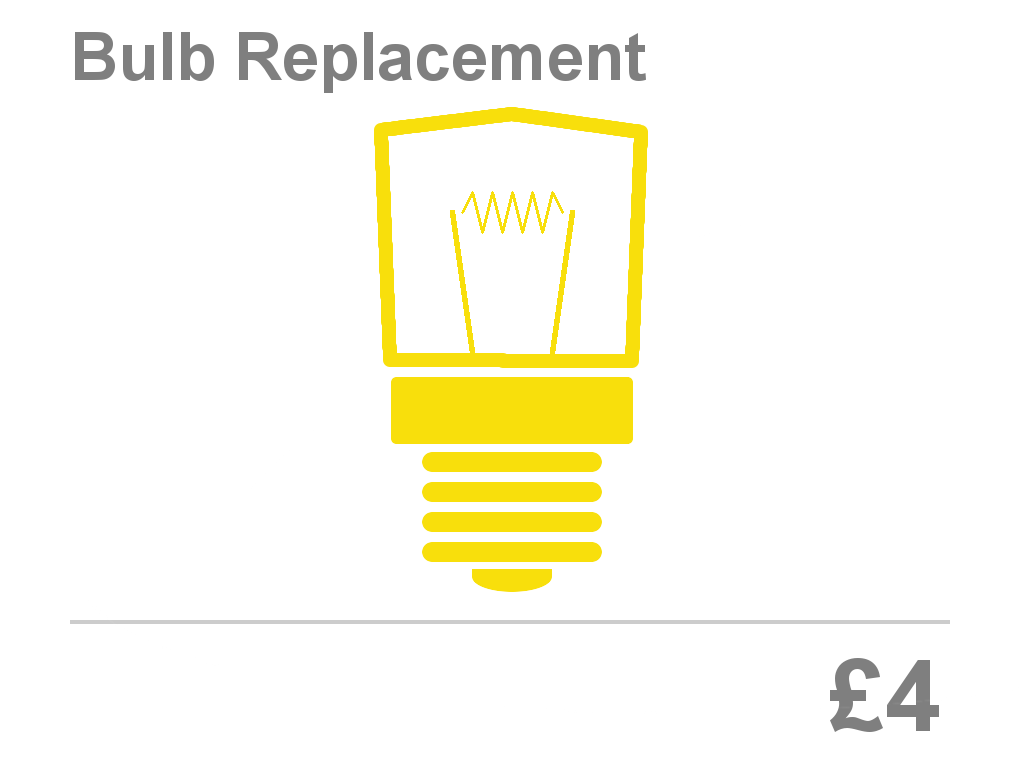 Oven Bulb Replacement Price Bristol